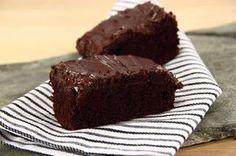 Nem chokoladekage  (Rettelse: 100 gram smør, 0,5 del olie)