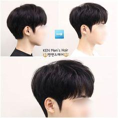 Korean Haircut Men, Asian Boy Haircuts, Korean Boy Hairstyle, Asian Haircut, Korean Short Hair, Haircuts For Men, Hair Korean Style, Korean Men Hair, Korean Hairstyles