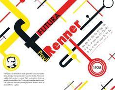 Futura | Paul Renner by Joe Sidote, via Behance