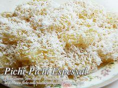 Filipino Dishes, Filipino Desserts, Asian Desserts, Filipino Recipes, Filipino Food, Cassava Cake Recipe Filipino, Kalamay Recipe, Pichi Pichi Recipe, Kawaling Pinoy Recipe