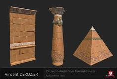 Image result for anubis overwatch map
