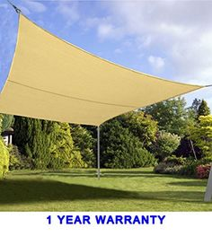 Quictent 24 x 24 ft 185G HDPE Square Sun Sail Shade Canopy UV Block Top Outdoor Cover Patio Garden Sand For Sale https://patioumbrellasusa.info/quictent-24-x-24-ft-185g-hdpe-square-sun-sail-shade-canopy-uv-block-top-outdoor-cover-patio-garden-sand-for-sale/