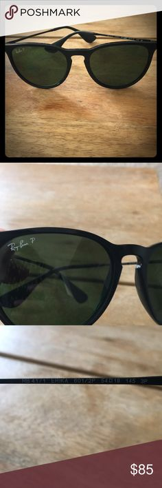 Ray Bans - Polarized! Erika style - Black frames Ray Bans - Polarized! Erika style - Black frames Ray-Ban Accessories Glasses