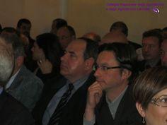 Da destra: Marco Santucci, Presidente de L'Aquila e Franco Volpe Consigliere Nazionale.