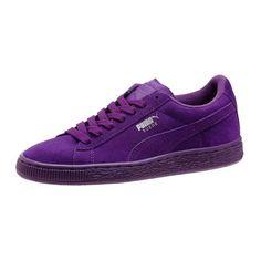 puma damen vikky platform sneakers violett