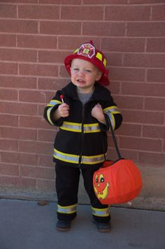 maybe I could make Tristan a fireman costume given his fascination