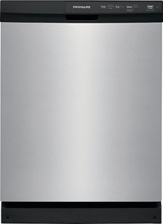 Frigidaire - Front Control Tall Tub Built-In Dishwasher - Stainless steel - Front_Standard Built In Dishwasher, Stainless Steel Dishwasher, All World Flags, Lowes Home Depot, Lifetime Quotes, Rack Design, Kitchen Remodel, Tub, Cool Things To Buy