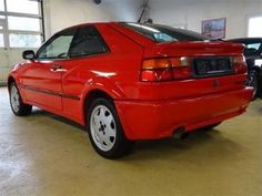 2000 VW Corrado 16V, Category: Coupe, Type of vehicle: Used car, Color: Red, Interior grau, Doors: 3 Seats: 4 # 5