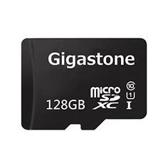 Gigastone 128GB Micro SD Card U1 Memory  SD Card Adapter MicroSD for Samsung Galaxy Android Phone Tablet DSLR GoPro Camera Drone PC *** You can get more details by clicking on the image.