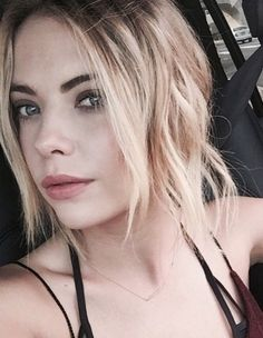 Ashley Benson- Even without makeup she still looks flawless to me