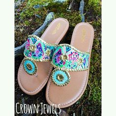 Jack Rogers inspired sandals