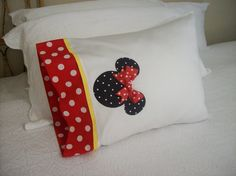 Cute pillow cases--I made some last trip...these are darling! :)