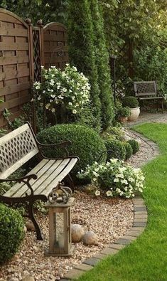 Like the fence and landscaping