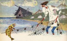 Russian Folk Tales (1967) ... Illustration by Alexander Lindberg