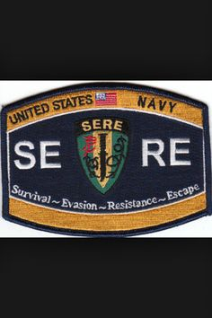 us army sere insignia Military Code Of Conduct, Us Navy Uniforms, Navy Rates, Navy Day, Survival, Navy Life, Natural Selection, Military Personnel, Juventus Logo