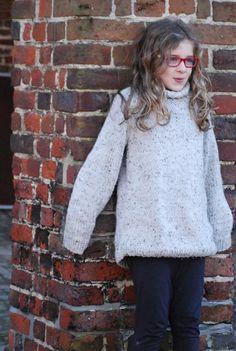 - Breien: Wollen trui maat 140 (maat S) « Tantehilde.be