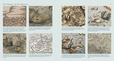 Sea Monsters on Medieval and Renaissance Maps / CHET VAN DUZER
