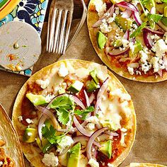 Enchilada Pizzas From Better Homes and Gardens, ideas and improvement projects for your home and garden plus recipes and entertaining ideas.