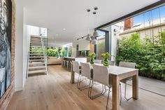 Tongue n Groove Oslo Eterno Piccolo solid oak floorboards installed at South Yarra, Victoria . Boards available from http://www.tonguengrooveflooring.com.au
