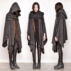 """""""apparently theres a variation of mori girl fashion called dark mori and it literally what an actual witch would wear"""" Girl Japanese, Dystopian Fashion, Cyberpunk Fashion, Mori Girl Fashion, Tokyo Street Fashion, Cool Outfits, Fashion Outfits, Grunge Outfits, Character Outfits"""