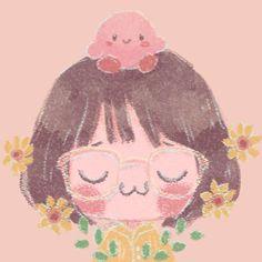 Cute Little Drawings, Cute Animal Drawings, Cute Drawings, Kawaii Illustration, Character Illustration, Dark Art Drawings, Cartoon Icons, Art Icon, Cute Icons