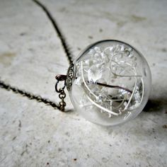 Heron & Lamb Terrarium Necklace, $33, now featured on Fab.