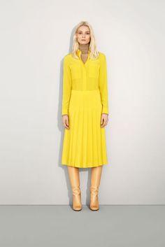 boot + midi skirt from Chloe Fall 2011 lookbook