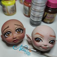 Temos esses dois modelos no site. Fimo Clay, Disney Characters, Fictional Characters, Disney Princess, Art, Templates, Art Background, Kunst, Performing Arts