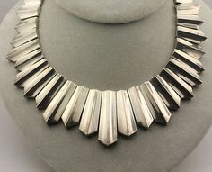 Vintage Necklace | Antonio Pineda.  Sterling silver.