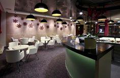 Étkező, kávézó és közösségi terek - Poziteam Community Space, Conference Room, Lounge, Dining, Chair, Table, Inspiration, Spaces, Furniture