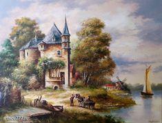 живопись голландских мастеров пейзажи: 7 тыс изображений найдено в Яндекс.Картинках Diy And Crafts, Painting, Art, Paintings, Art Background, Painting Art, Kunst, Drawings, Art Education