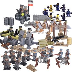World War II Set US Commandos Brothers Team Marine Minifigures Building Blocks Toys Compatible with Birthday #>=#>=#>=#>=#> Click on the pin to check out discount price, color, size, shipping, etc. Save and like it!