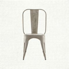 """during a buying trip overseas, we saw a 1930s style french bistro chair and were sure it whispered, """"reimagine me, si vous plait."""" thus, the carson d"""