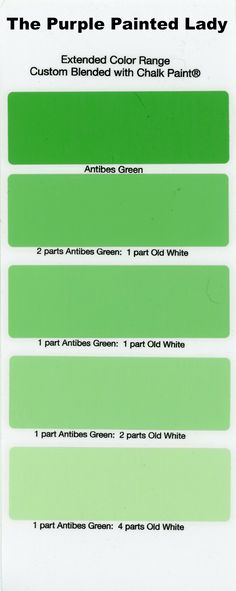 AntibesGreen Extended Color The Purple Painted Lady Chalk Paint