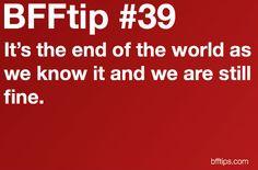 BFFtip #39