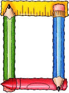 Album Archive - Molduras e Barras Boarder Designs, Page Borders Design, Classroom Borders, Classroom Decor, Borders For Paper, Borders And Frames, School Border, School Frame, School Clipart