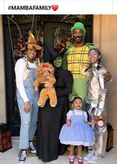 Halloween from Kobe Bryant's Family Album The Bryants dressed up as characters from The Wizard of Oz back in October Bryant Bryant Black Mamba Bryant Cartoon Bryant nba Bryant Quotes Bryant Shoes Bryant Wallpapers Bryant Wife Kobe Bryant And Wife, Kobe Bryant Daughters, Kobe Bryant Family, Kobe Bryant Nba, Kobe Bryant Quotes, Kobe Quotes, Kobe Mamba, Kobe Bryant Pictures, Vanessa Bryant