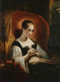 Gretchen am Spinnrade Goethe's Faust, Mona Lisa, Fiction, Museum, Artwork, Paintings, Google, Artworks, Idea Paint