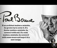 Chef Paul Bocuse quote