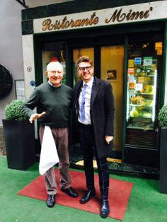 Umberto #Palermo da Mimì alla ferrovia, storico ristorante di #Napoli, interprete della cucina campana da tre generazioni.