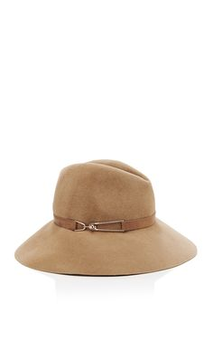 Farrah Wool-Felt Hat by Eugenia Kim - Moda Operandi