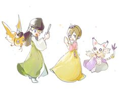 Nuestro príncipe y nuestra princesa <3