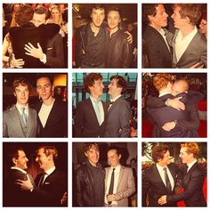 Cumberhugs << I want one! He's with Matt Smith, David tennant, moriarty, Malfoy. I'm having fangirl problems.....