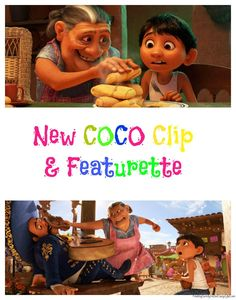 Check out this newly released COCO clip and featurette for the new animated Disney-Pixar film opening in theaters 11/22. #PixarCocoEvent #PixarCoco