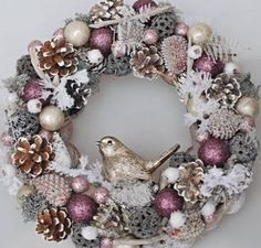 45 Easy DIY Dollar Store Christmas Decorations for Decorating on a Budget - The Trending House Elegant Christmas Decor, Silver Christmas Decorations, Pink Christmas, Christmas Crafts, Christmas Ornaments, Christmas Music, Christmas Movies, Primitive Christmas, Christmas Mantels