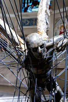 "Paul Fryer's ""Lucifer (Morningstar)"" piece at  Holy Trinity Church in Marylebone, Westminster. Just stunning!"