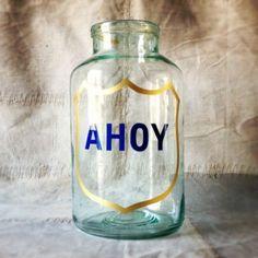 Ahoy Jar. http://www.themintlist.com/product/red-hope-jar
