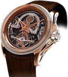 Rendez-Vous Regulator Mechanical Skeleton Watch For Men