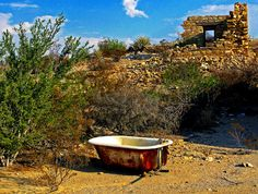 Terlingua ghost town  TX...close your eyes and hear the children of long ago...