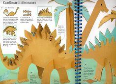 Rainy Day Activity – Cardboard Dinosaurs